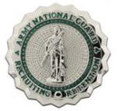Army national guard recruiting and retention badges