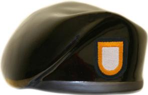 101st Airborne Division Ceramic Beret With Flash