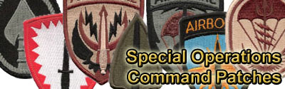 special operations command patch eBay
