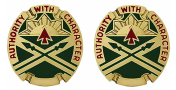 111th Ordnance Group Dui Unit Crest