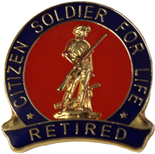 Citizen Soldier For Life Retired Us Army National Guard