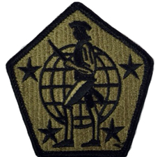 Human Resources Command Multicam Patch With Velcro