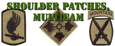 Medical Commands Multicam Shoulder Sleeve Patches