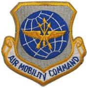 USAF Air Mobility Command Patch